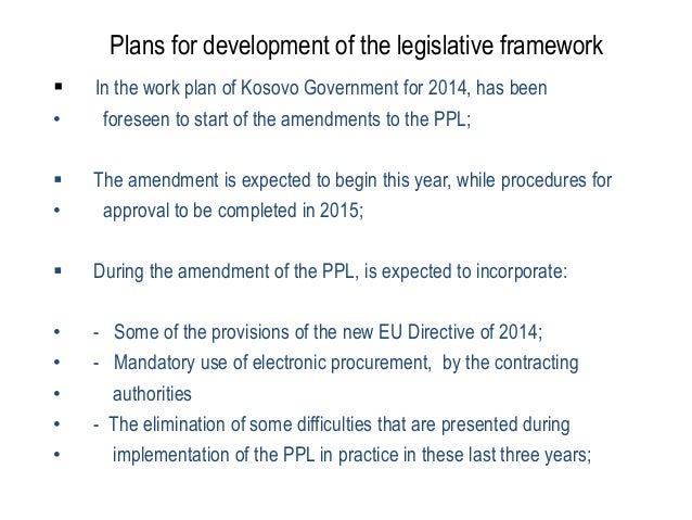 public procurement in kosovo About cpa welcome to the pursuant to public procurement law no 04/l-042 according to public procurement law in kosovo no 04/l-042, cpa is responsible for.
