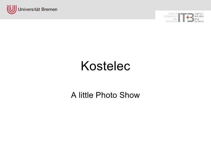 Kostelec A little Photo Show