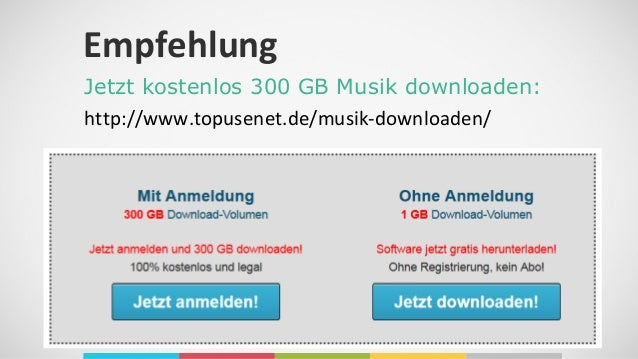 musik kostenlos downloaden legal ohne anmeldung
