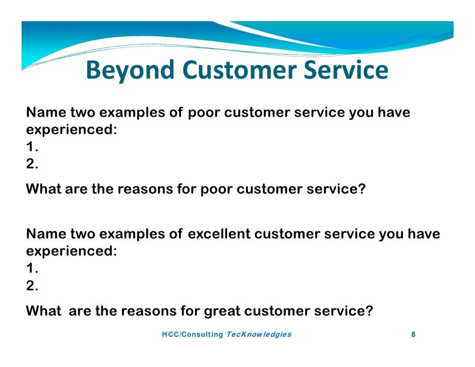 Example For Customer Service Idealstalist