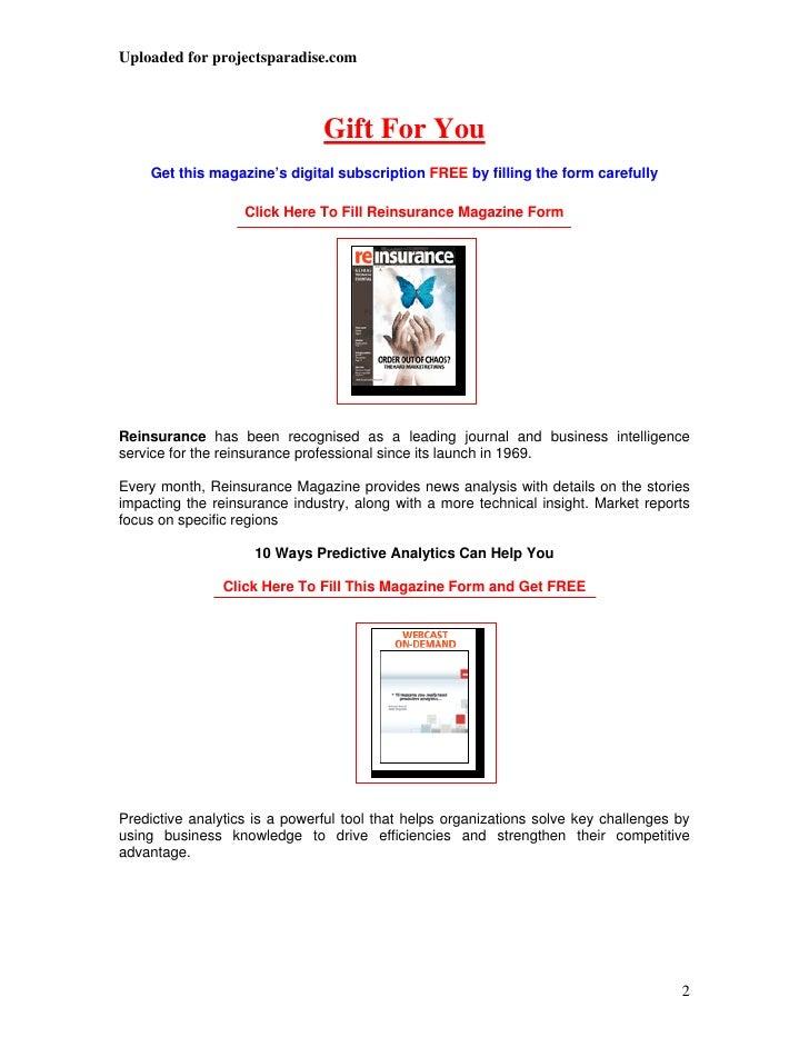 Kotak life insurance project