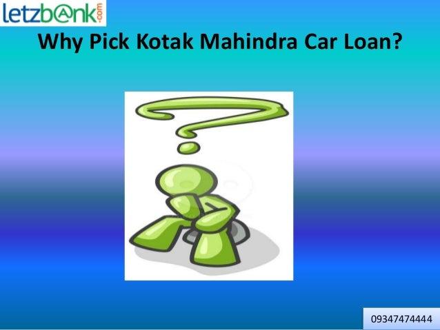 Kotak Mahindra Bank Car Loan Customer Care