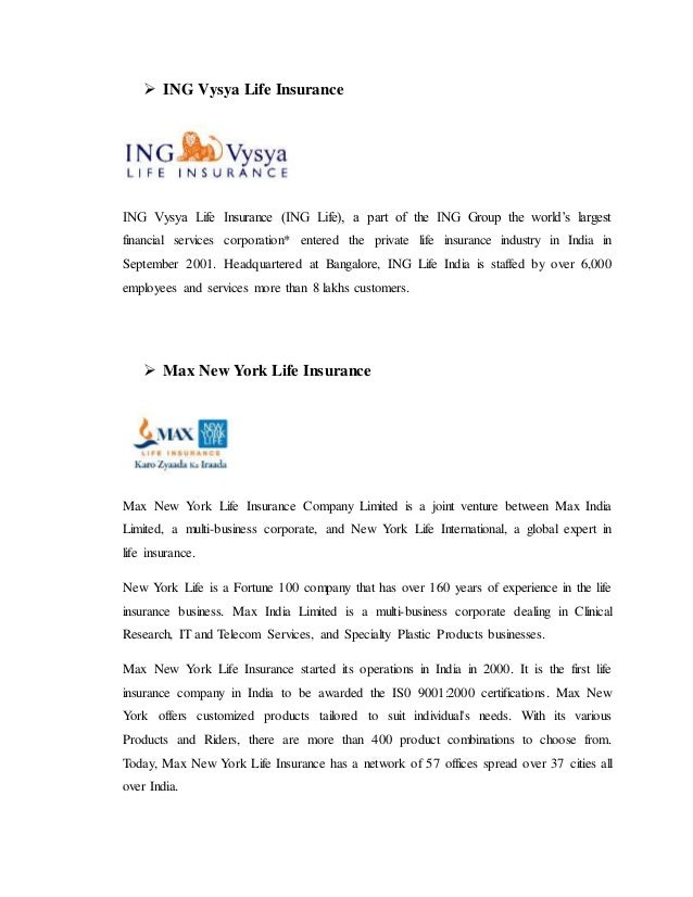recruitment process in max newyork life insurance company A general office of new york life insurance company.