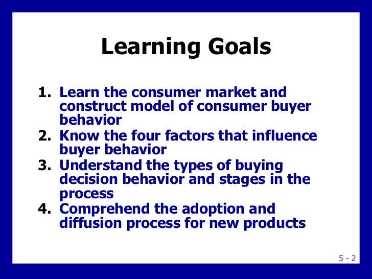 consumer markets and consumer buyer behavior Consumer markets and consumer buyer behavior topic outline model of consumer behavior characteristics affecting consumer behavior types of buying decision be.