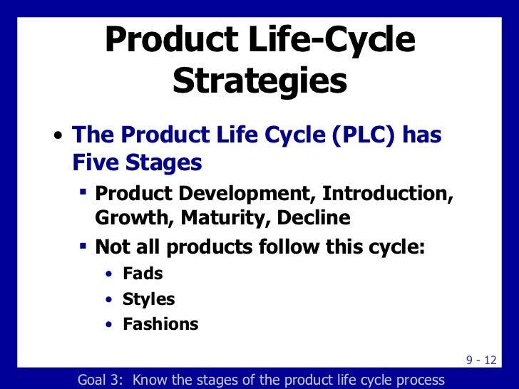 Product Life-Cycle Strategies <ul><li>The Product Life Cycle (PLC) has Five Stages </li></ul><ul><ul><li>Product Developme...