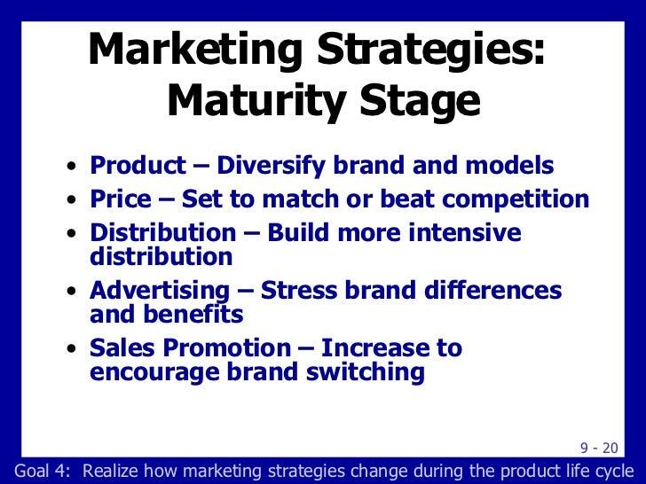 Marketing maturity stage