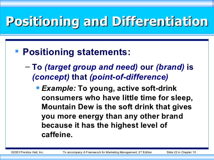 product lifecycle positioning and differentiation essay Essay porter s broad differentiation strategy and 90,000+ more term papers as the product life cycle in this industry has to keep their position as a.