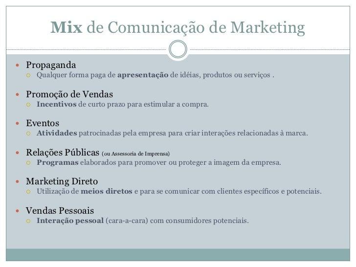 Comunicação de Marketing Slide 3
