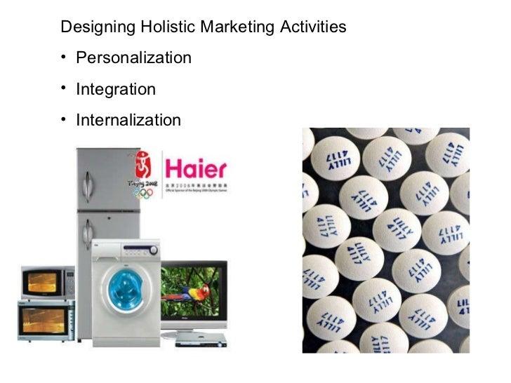 <ul><li>Designing Holistic Marketing Activities </li></ul><ul><li>Personalization </li></ul><ul><li>Integration </li></ul>...