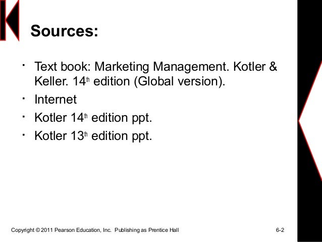 Marketing Management by Kotler Edition