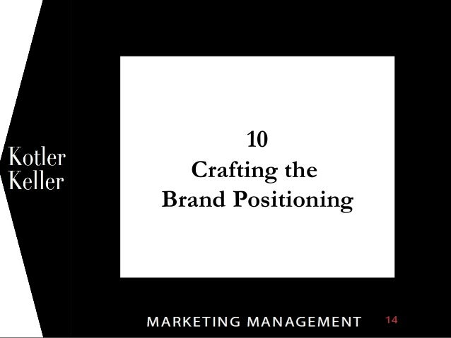 10 Crafting the Brand Positioning 1