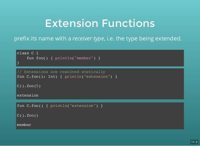 Extension functions kotlin