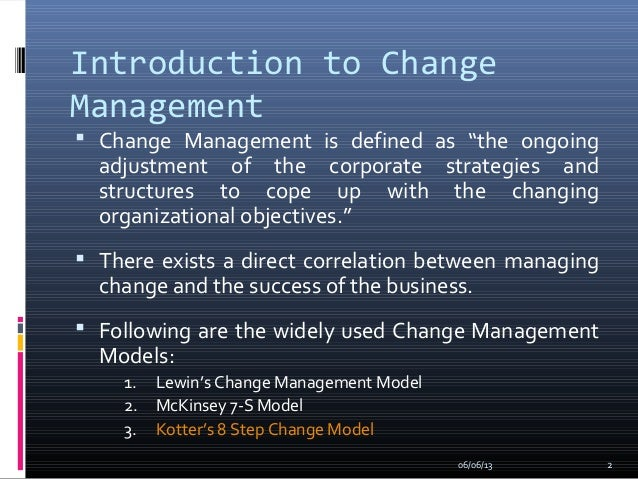 case study based on lewin organisational change model Major approaches & models of change management change is the only constant reality of life and is observed not just in our personal life but also on the professional.
