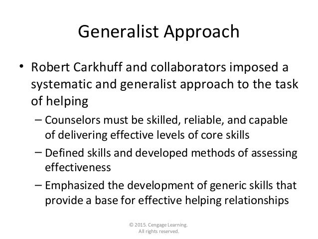 carkhuff model of counselling pdf
