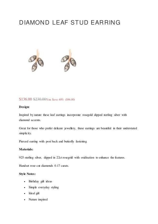 b72a4d1571484 DIAMOND LEAF STUD EARRING