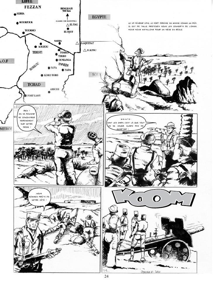La bataille s'engage. Le lieutenant Cecaldi, qui ne dispose que d'un seul canon de 75 mm Schneider, commençE à bombarder l...