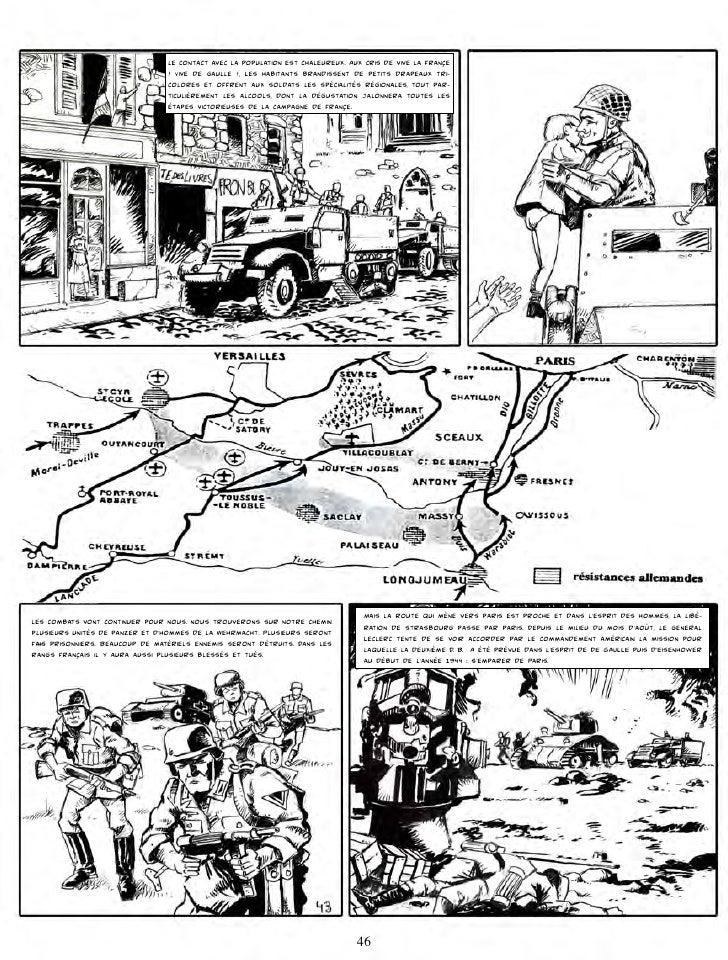 Or, le 15 août, à son P C. De Fleuré, le general Leclerc apprend par le general Haislip qu'une partie du XV Corps américai...