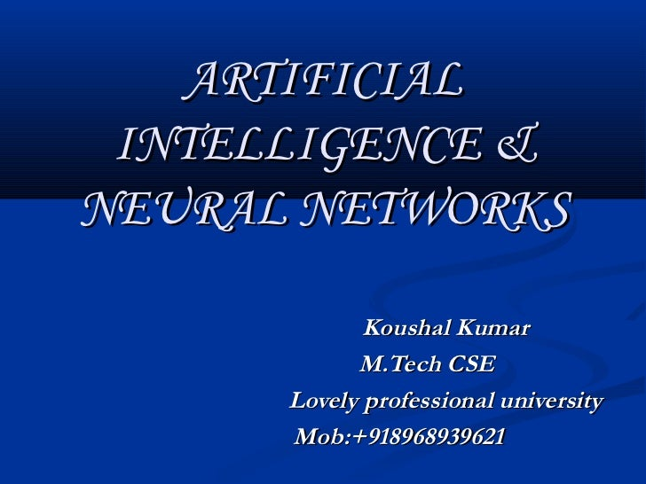 m tech thesis on neural network This thesis is concerned with system identification and control of nonlinear systems using neural networks the work has been carried out keeping two objectives in mind.