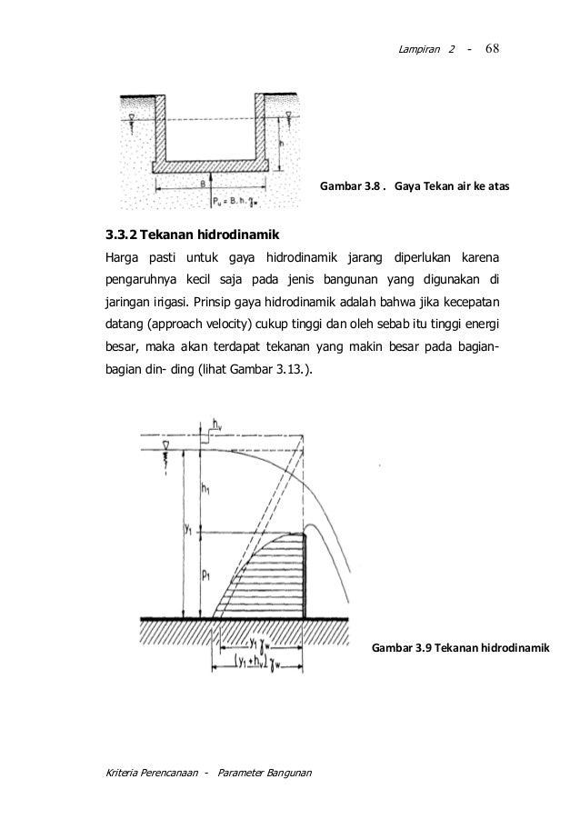 Kp 06 2010 parameter bangunan kriteria perencanaan parameter bangunan 68 ccuart Gallery