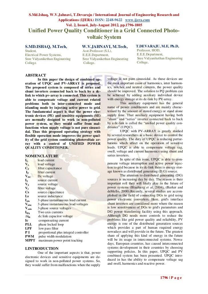S.Md.Ishaq, W.V.Jahnavi, T.Devaraju / International Journal of Engineering Research and                  Applications (IJE...