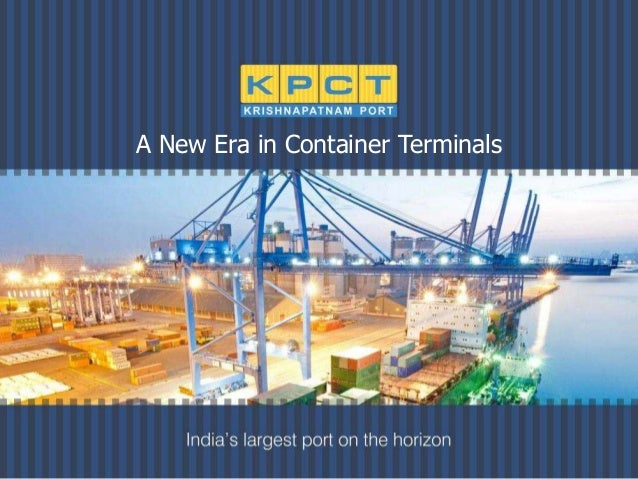 A New Era in Container Terminals