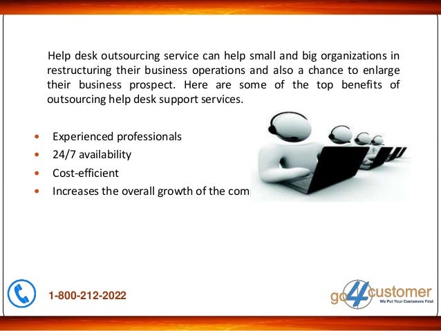 How Help Desk Outsourcing Enhances The Growth Of The