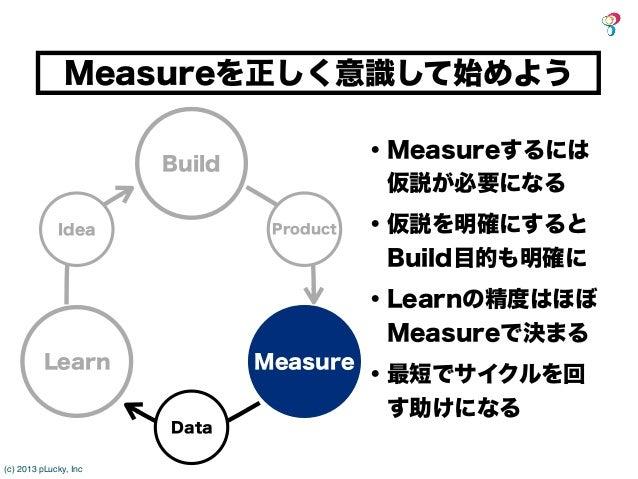 Measureを正しく意識して始めよう                                          ・Measureするには                       Build                     ...