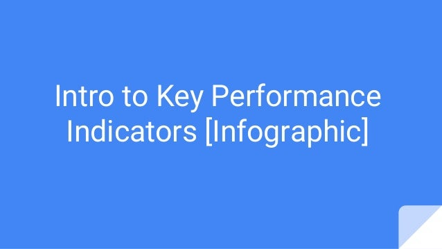 to Key Performance Indicators [Infographic]
