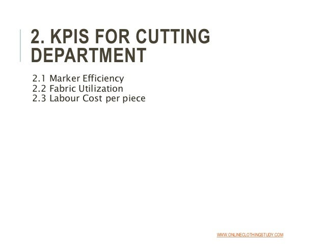 key performance indicators for production department