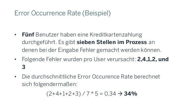 System Usability Scale (SUS) • Keine Auswertung statistischer Nutzungsdaten sondern Nutzer-Umfrage • Etabliertes Werkzeug ...