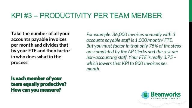 5 key metrics to empower your accounts payable organization
