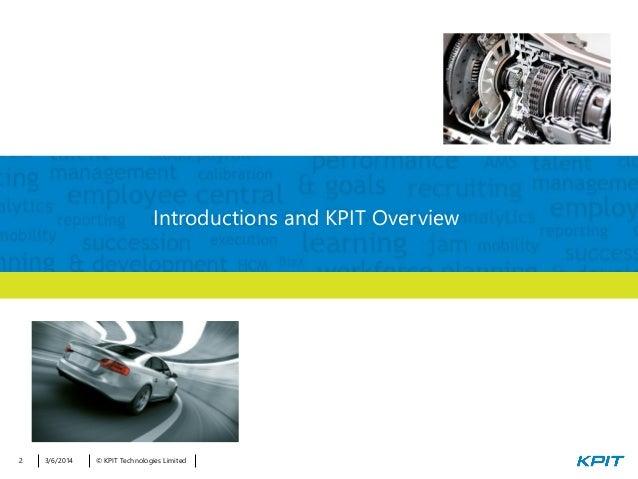 Webinar Presentation on Talent Management Brand New HCM Model for Auto Slide 2