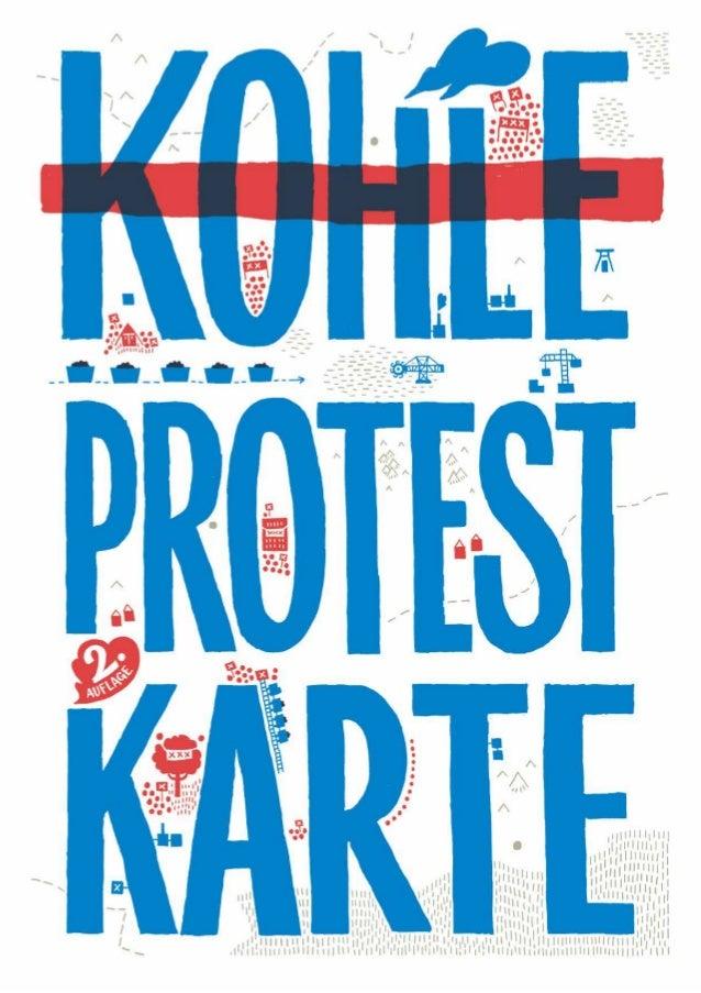 Kohleprotestkarte 2016