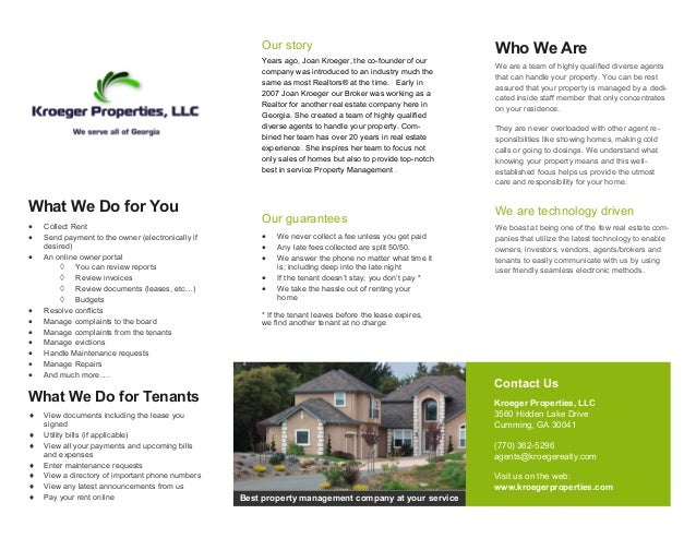 property pamphlet