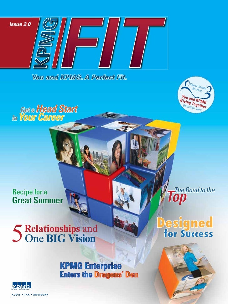 Issue 2.0                 You and KPMG. A Perfect Fit.                                                 Chec               ...