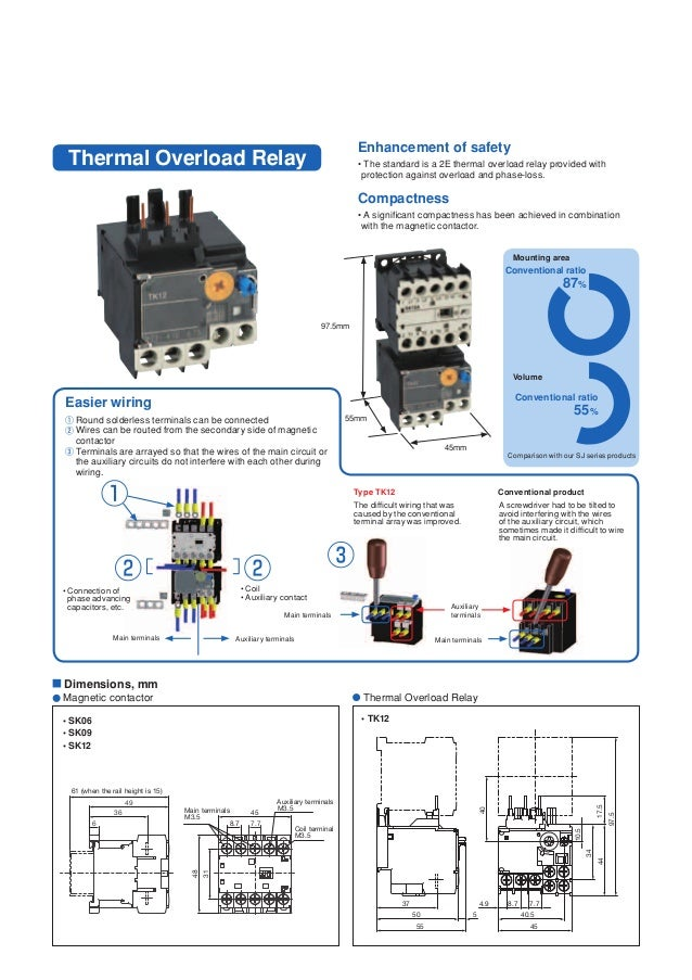 minicontactor and thermal overload relay fuji electric 4 638?cb=1490255503 mini contactor and thermal overload relay fuji electric fuji magnetic contactor wiring diagram at virtualis.co