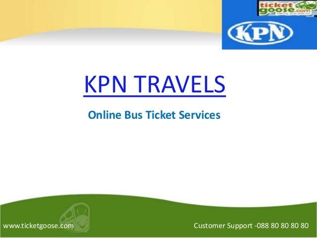 Kpn Travels Online Ticket Booking Login
