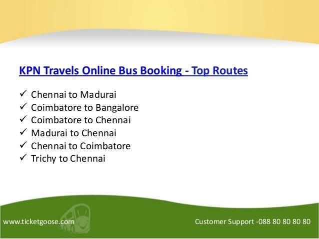 Kpn Travels Online Booking Chennai To Kodaikanal