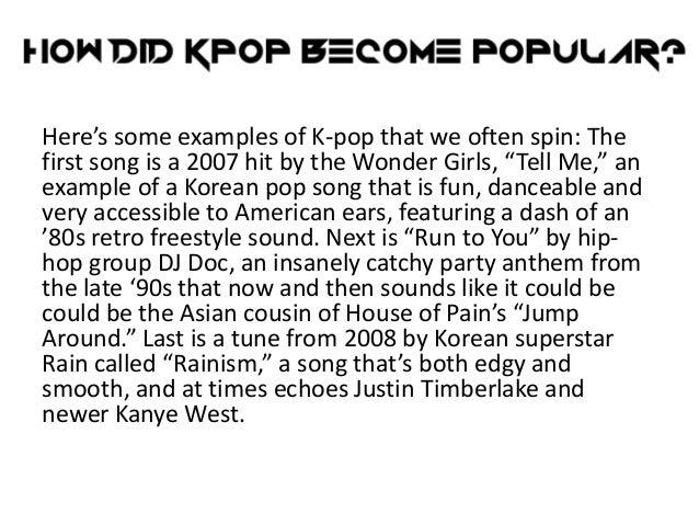 kpop habit investigation papers