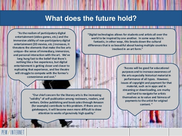 "What does the future hold?      ""As the realism of participatory digital              ""Digital technologies allows for stu..."
