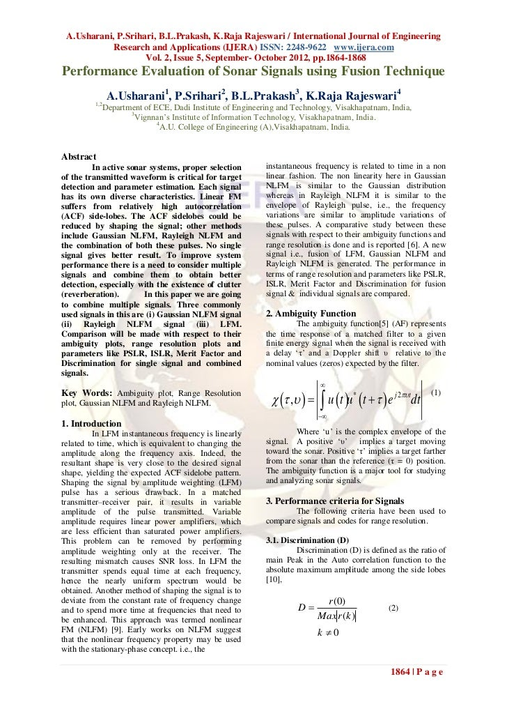 A.Usharani, P.Srihari, B.L.Prakash, K.Raja Rajeswari / International Journal of Engineering            Research and Applic...