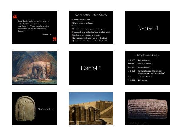Bible and Culture 2016 – Daniel 2–6 Slide 2