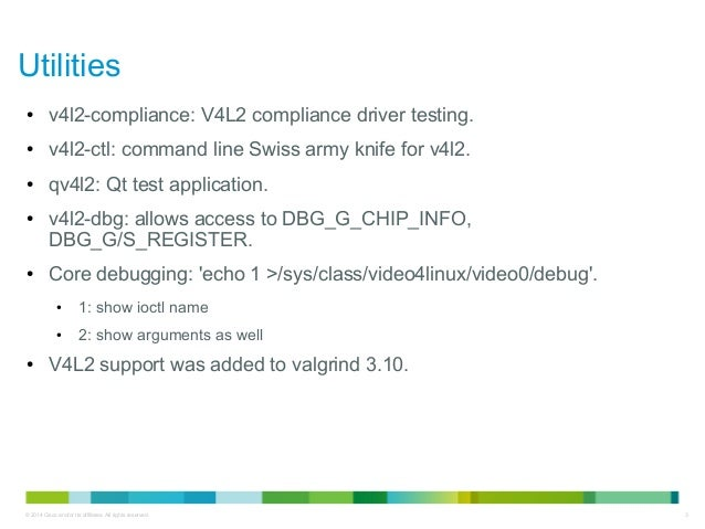 Kernel Recipes 2014 - Testing Video4Linux Applications and