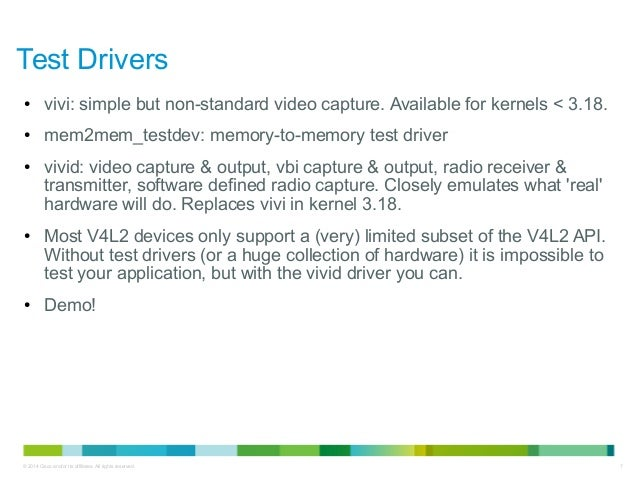 Kernel Recipes 2014 - Testing Video4Linux Applications and Drivers