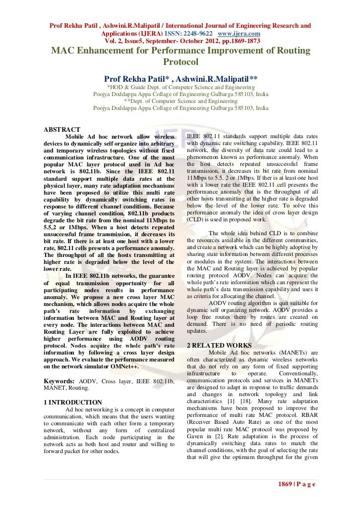 Prof Rekha Patil , Ashwini.R.Malipatil / International Journal of Engineering Research and                    Applications...