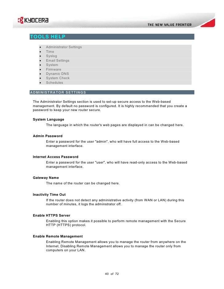 KR2 Kyocera User Guide