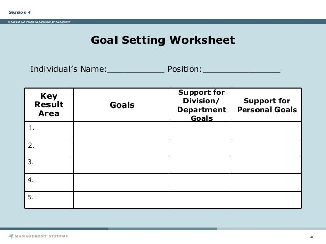 Sales Goal Setting Worksheet Free Worksheets Library – Setting Personal Goals Worksheet