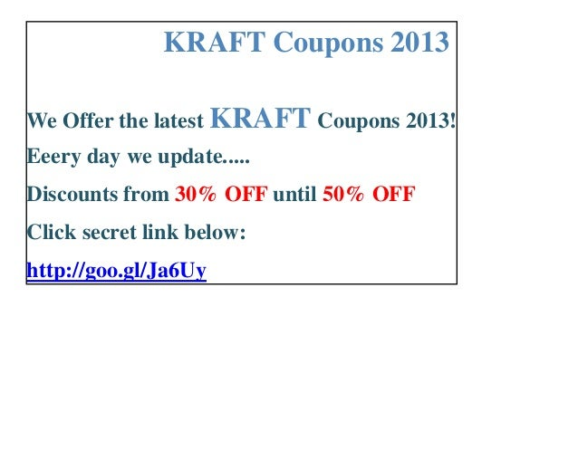 graphic about Kraft Printable Coupons referred to as Kraft coupon codes printable 2013