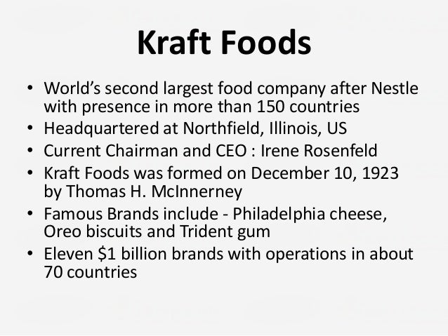 kraft merger with cadbury analysis Why investors are bingeing on snack-maker mondelez  a merger between mondelez and kraft heinz would be an interesting development, considering that the two used to be part of the same company.