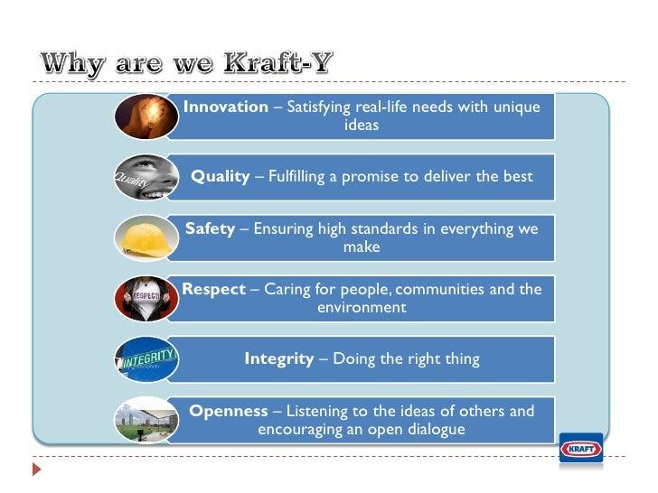 Kraft foods recommendations